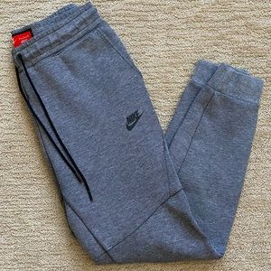 Mens Nike Tech Fleece Carbon Heather Black Joggers